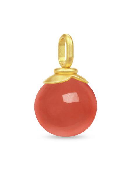 Pomarańczowa złota zawieszka Julie Sandlau