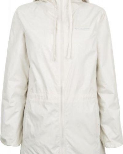 Куртка с капюшоном длинная спортивная с мехом Columbia