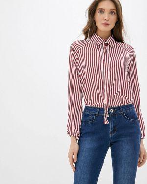 Рубашка с длинным рукавом бордовый красный Camomilla Italia
