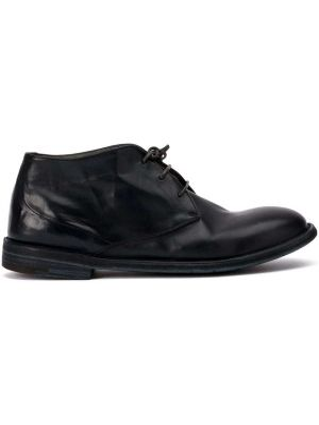 Buty skórzane na wysokości kołatka Premiata