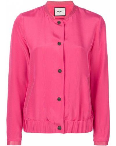 Розовая куртка на пуговицах Max & Moi