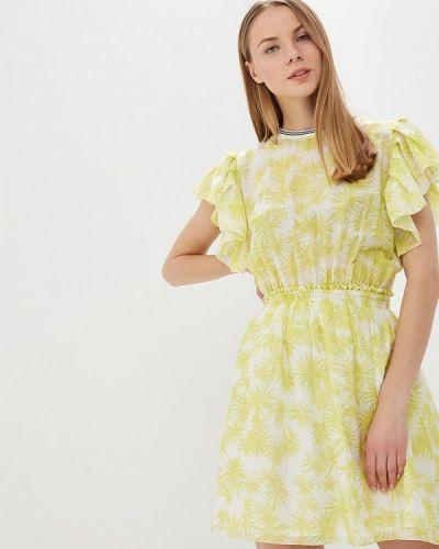 Платье - зеленое L1ft