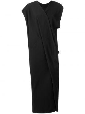 Приталенное драповое платье на молнии Poiret
