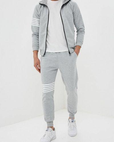 Серый спортивный костюм Aarhon