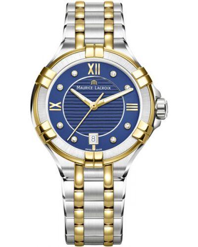 Водонепроницаемые часы с подсветкой кварцевые Maurice Lacroix