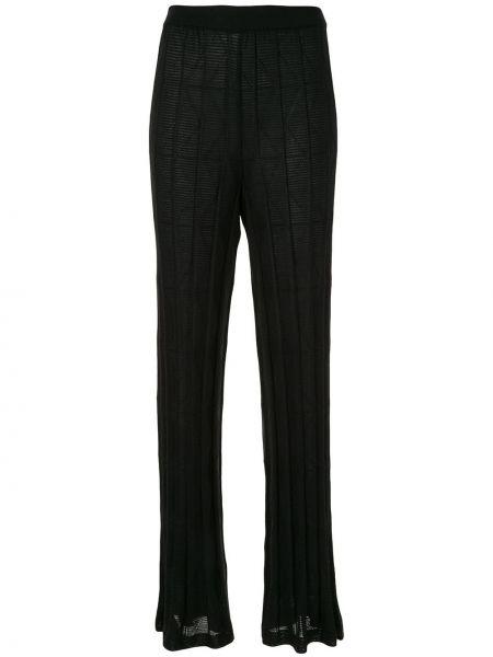 Брюки с завышенной талией брюки-хулиганы дудочки M Missoni
