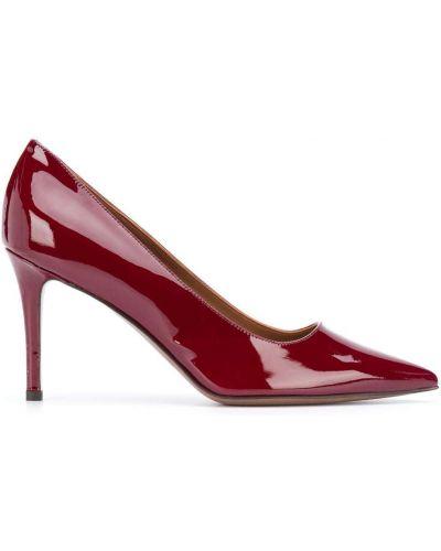 Лаковые красные туфли-лодочки на каблуке L'autre Chose