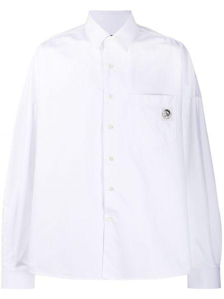 Koszula z długim rękawem klasyczna z logo Diesel