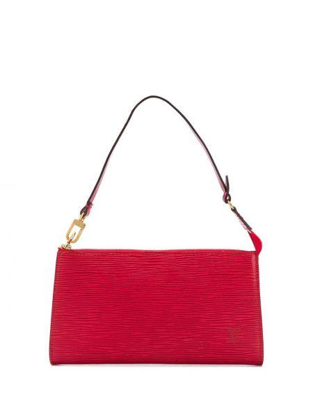 Кожаная сумка сумка-тоут на плечо Louis Vuitton