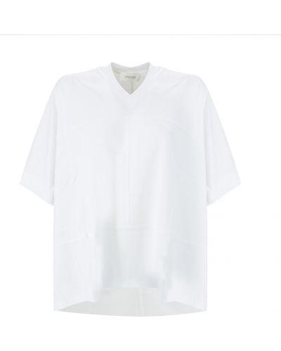 Biała koszulka Sportmax
