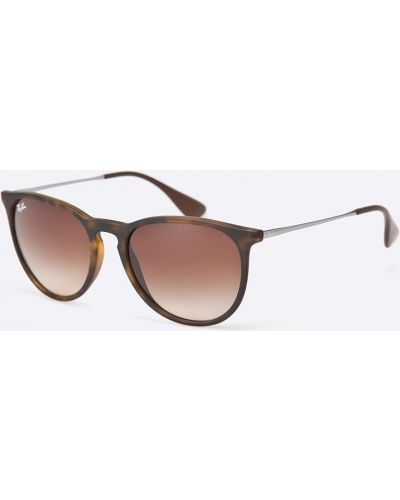 Коричневые солнцезащитные очки Ray-ban