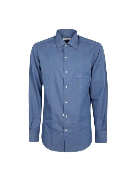 Niebieska koszula Loro Piana