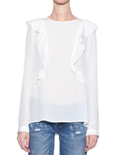 Шелковая блузка - белая Rene Lezard