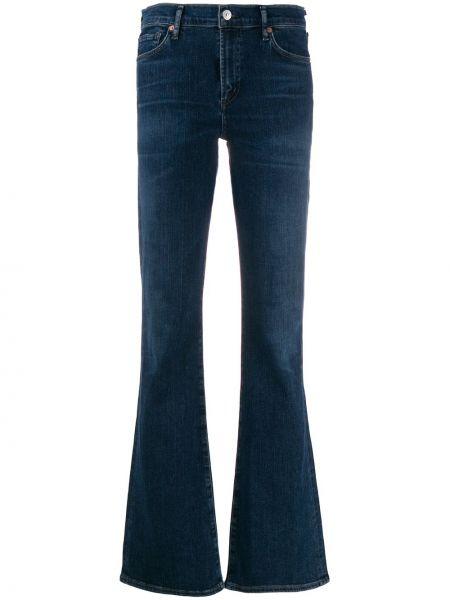 Расклешенные джинсы с низкой посадкой на пуговицах Citizens Of Humanity