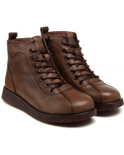 Ботинки - коричневые Meego Comfort