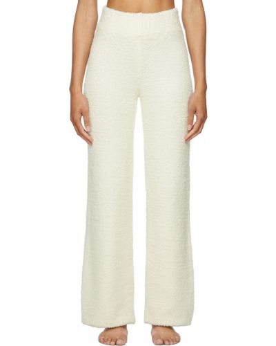 Белые широкие брюки Skims