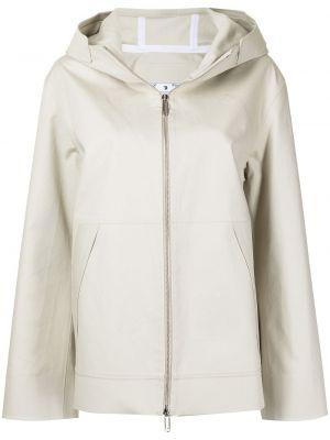Куртка с капюшоном - белая Off-white