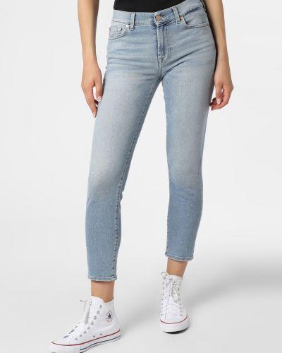 Mom jeans vintage - niebieskie 7 For All Mankind