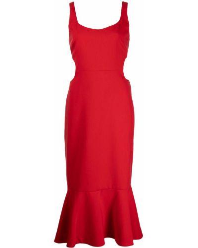 Платье без рукавов - красное Likely