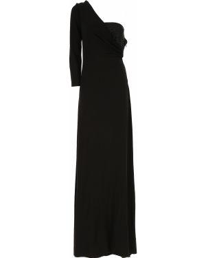 Sukienka koktajlowa wieczorowe z wiskozy Emporio Armani