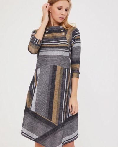 Повседневное серое платье Mari Vera