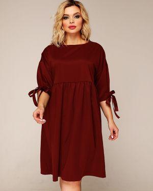 Деловое платье с завышенной талией со складками Ellcora