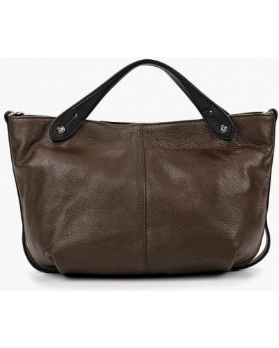 Кожаная сумка - коричневая Gianni Conti