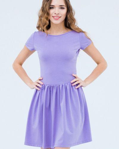Платье весеннее фиолетовый Mascot