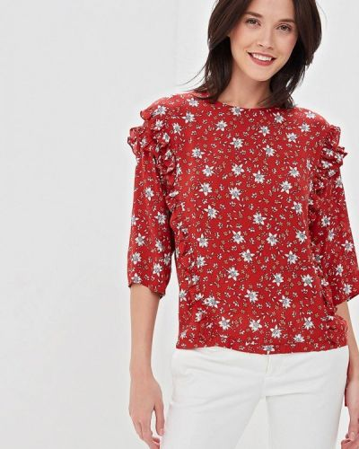Блузка турецкий красная Lusio