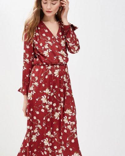 Платье - красное Clabin