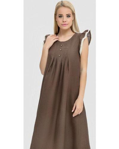 Ночнушка коричневый Morandi