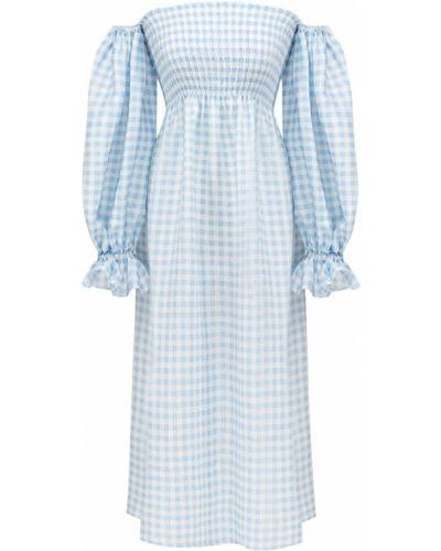 Sukienka midi z printem Sleeper
