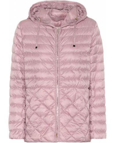 Облегченная розовая дутая куртка 's Max Mara