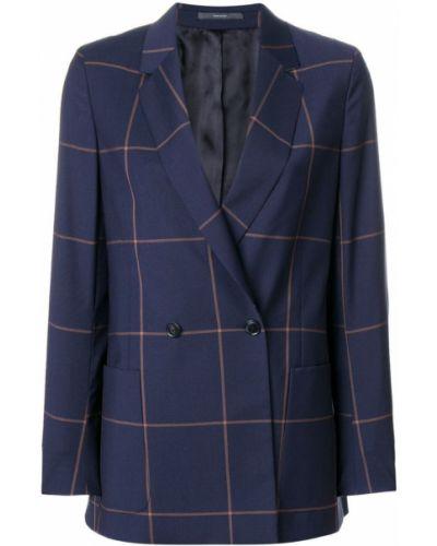 Куртка в клетку куртка-жакет Paul Smith