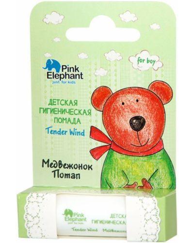 Кожаная розовая губная помада Pink Elephant