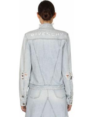 Пиджак джинсовый винтажный Givenchy