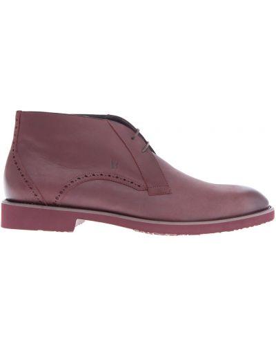 Кожаные ботинки легкие броги Moreschi