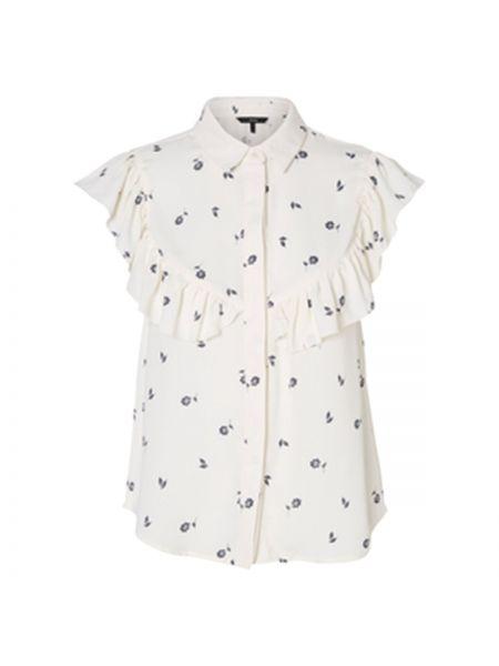 Блузка без рукавов прямая с принтом Vero Moda
