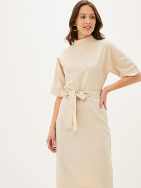Платье - бежевое Maurini