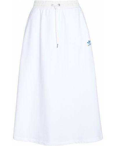 Юбка макси юбка-колокол с карманами Adidas