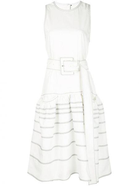 Хлопковое платье - белое Proenza Schouler