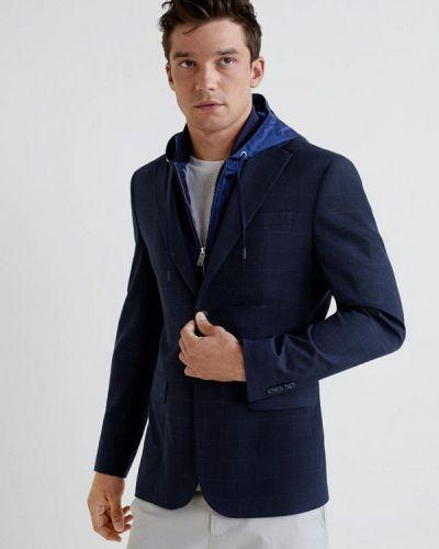Синий пиджак Mango Man