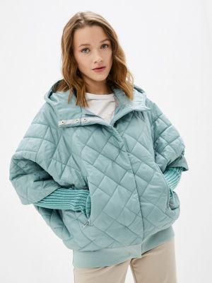 Бирюзовая утепленная куртка Lanicka