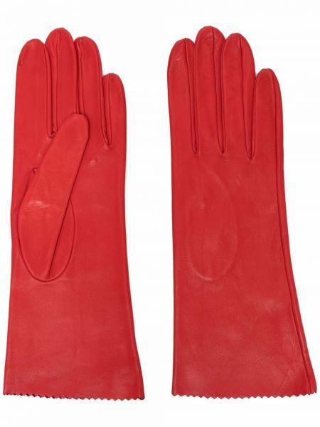 Красные кожаные трусы Manokhi