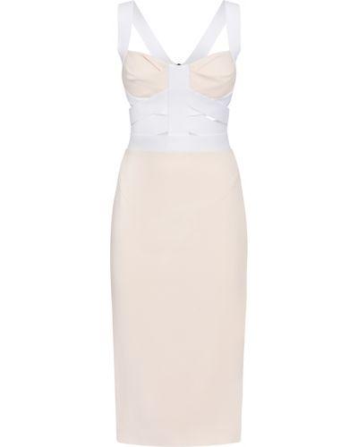 Biała sukienka Roland Mouret