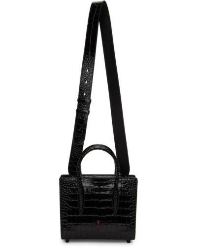 Czarna torba na ramię Christian Louboutin