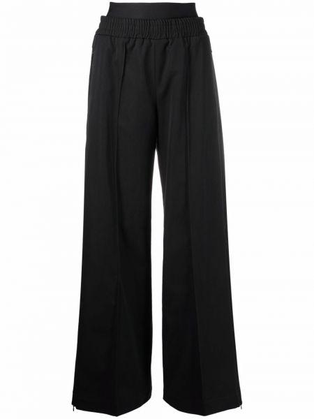 Шерстяные брюки - черные Diesel