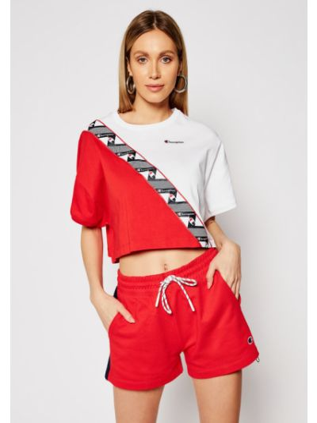 T-shirt - czerwona Champion