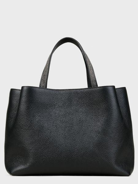 Кожаная черная кожаная сумка на молнии Les Petits Joueurs