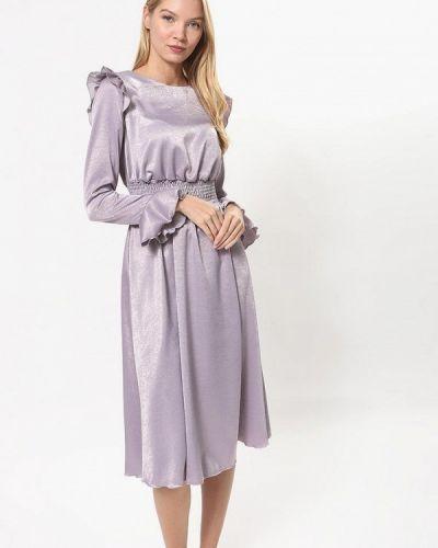 Вечернее платье осеннее розовое Tutto Bene